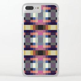 Retro Sylvan Clear iPhone Case