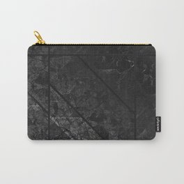 Black Marble Texture G310 Carry-All Pouch