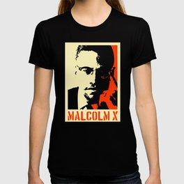 Malcolm X Vintage Graphic T-shirt
