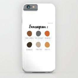 Enneagram 1 iPhone Case