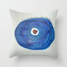 I Love Your Record Collection Throw Pillow