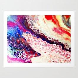 A Modern Leopard Print Abstract Art Print