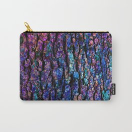 Afantasy Abstraction of Tree Bark Carry-All Pouch