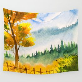 Autumn scenery #19 Wall Tapestry
