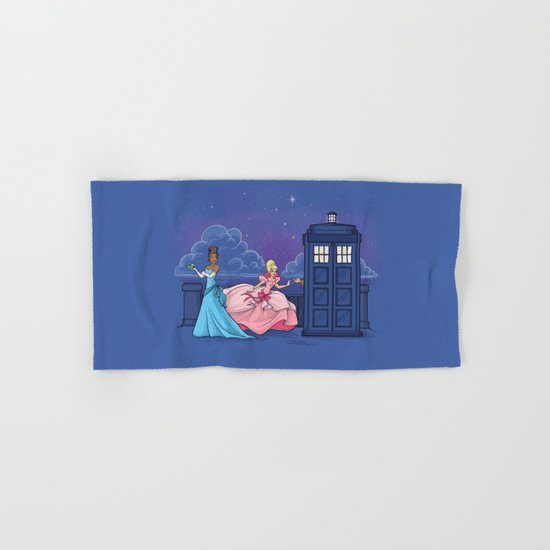 The Princess and the Doctor Hand & Bath Towel