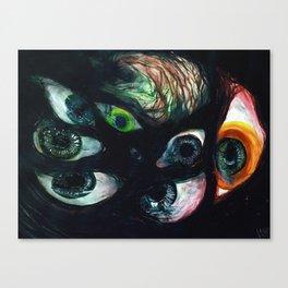 PRIDE & SECRECY Canvas Print