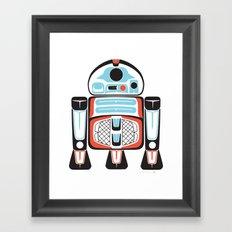 Silver Tenderfoot - Alliance Is Rebellion - R2-D2, wars, star Framed Art Print