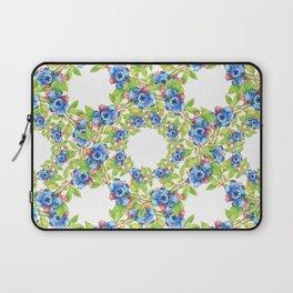 Wild Blueberries Lattice Laptop Sleeve