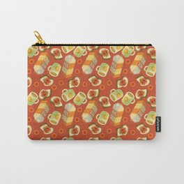 Coffee and Toast (Tomato Sauce Red) Carry-All Pouch