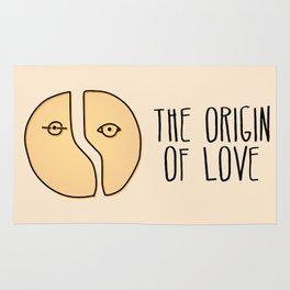 The Origin Of Love Rug
