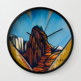The Ascent Wall Clock