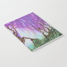 Whispers of Wisteria Notebook
