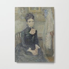 Portrait of Léonie Rose Charbuy-Davy Metal Print