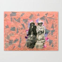 The Grey Quartet Canvas Print