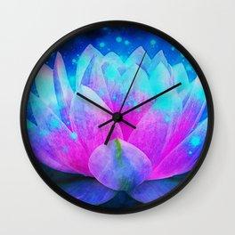 Mystic Lotus Wall Clock