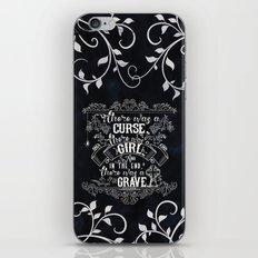 Beautiful Creatures - Grave - Black iPhone & iPod Skin