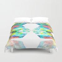 destiny Duvet Covers featuring Destiny by inkko