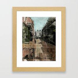 Amsterdam Streets Framed Art Print