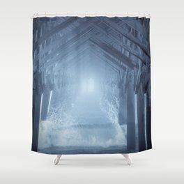 Under the Pier 2 Shower Curtain