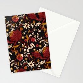 Australian Natives Red Blossom Stationery Cards