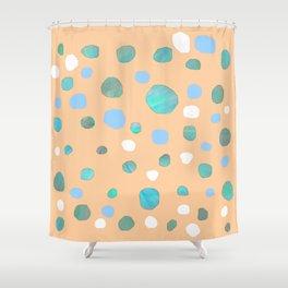 Meteorites S15 Shower Curtain