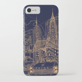 New York! Night iPhone Case