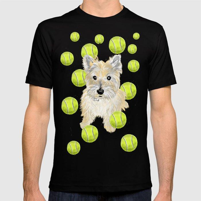 Cairn Terrier Fetch T-shirt
