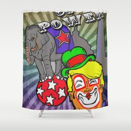 Circus of Power Shower Curtain