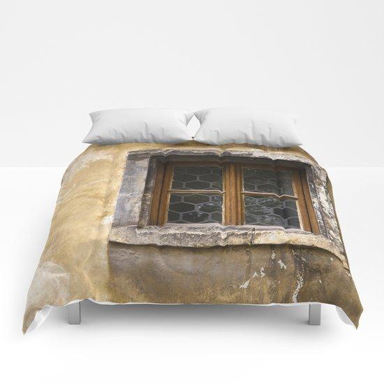 Mysterious Window II Comforters