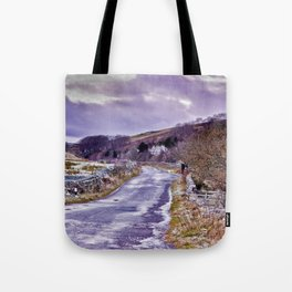 Yorks Dales Road in Winter Tote Bag
