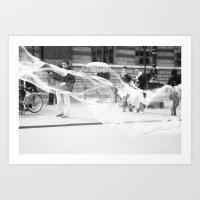 Streets of Paris I Art Print