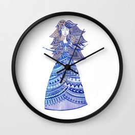 Queen of the West Kingdom Wall Clock