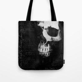 Portrait of a skull Tote Bag
