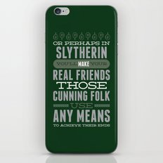 Slytherin iPhone & iPod Skin
