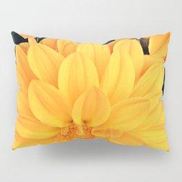 Orange Dahlia Pillow Sham