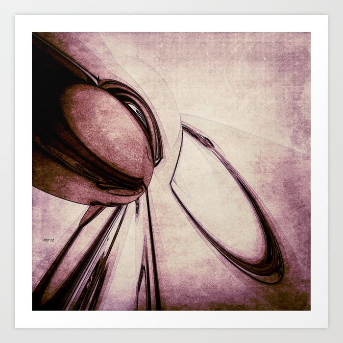 Abstract Form 4 Art Print