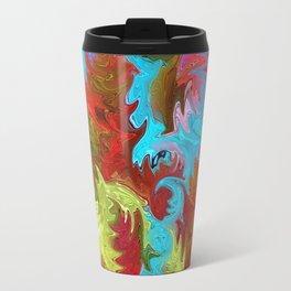 Abstract Mandala 244 Travel Mug