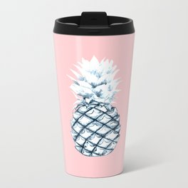 Ice Ice Pineapple Metal Travel Mug