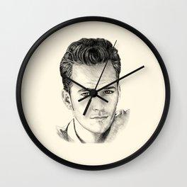 Luke Perry–Dylan McKay Wall Clock