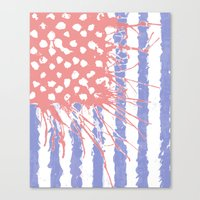 introvert Canvas Prints featuring DRENCH.american introvert by instantgaram