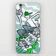 Skate Air iPhone & iPod Skin