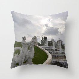 belvedere storm Throw Pillow