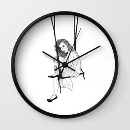 Swinging Thoughts Wall Clock