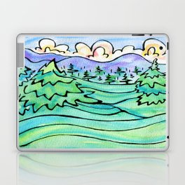 WILD AND FREE Laptop & iPad Skin