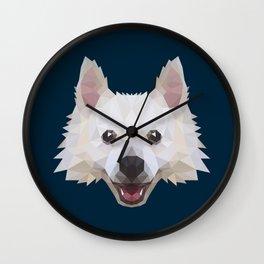 Poly Dog Wall Clock