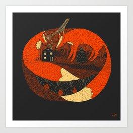Pumpkin Story. Chapter 2 Art Print