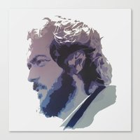 kubrick Canvas Prints featuring Kubrick by Davidjonesart