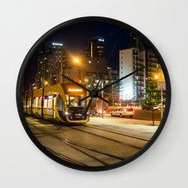 Gold Coast Light Rail Wall Clock