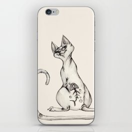 Cats with Tats v.1 iPhone Skin