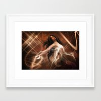 women Framed Art Prints featuring Women by Susann Mielke